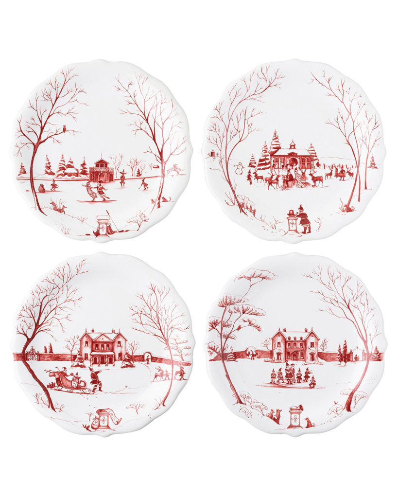 Country Estate Salad Plates