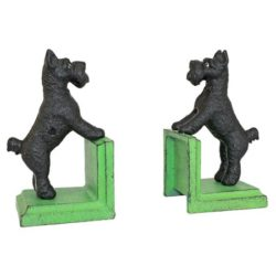 Scotty Dog Cast Iron Bookends