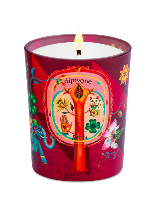 Diptyque Limited-Edition Lucky Flowers Candle