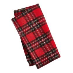Festive Plaid Napkins