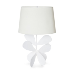 White Petal Table Lamp