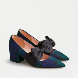 Black Watch Tartan Heels