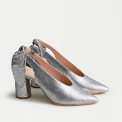 Slingback Sparkle Pumps
