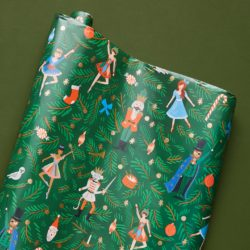 Rifle Paper Co. Nutcracker Wrapping Paper