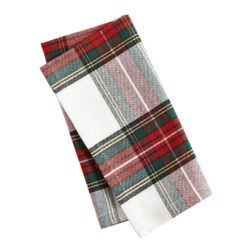 Snow Plaid Napkins