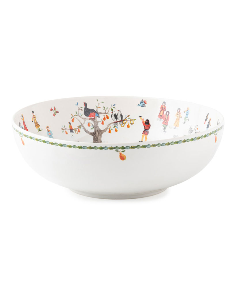 Christmas Serving Bowl