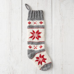 Wool Sweater Stocking