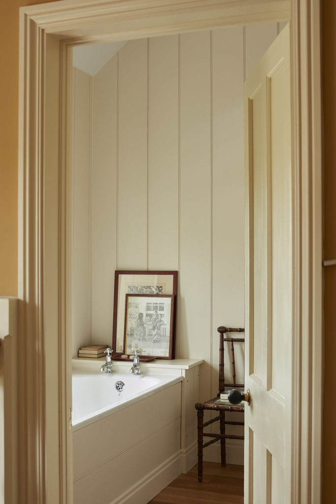 Bathroom in North Farm, Rita Konig's English country house