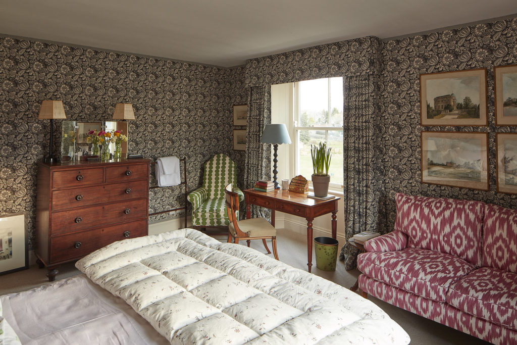 Bedroom in North Farm, Rita Konig's English country house