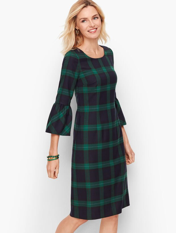 Black Watch Plaid Dress
