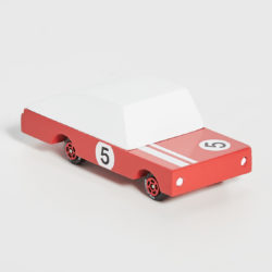 Wooden Red Racer Toy