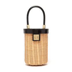 Wicker Cylinder Bag