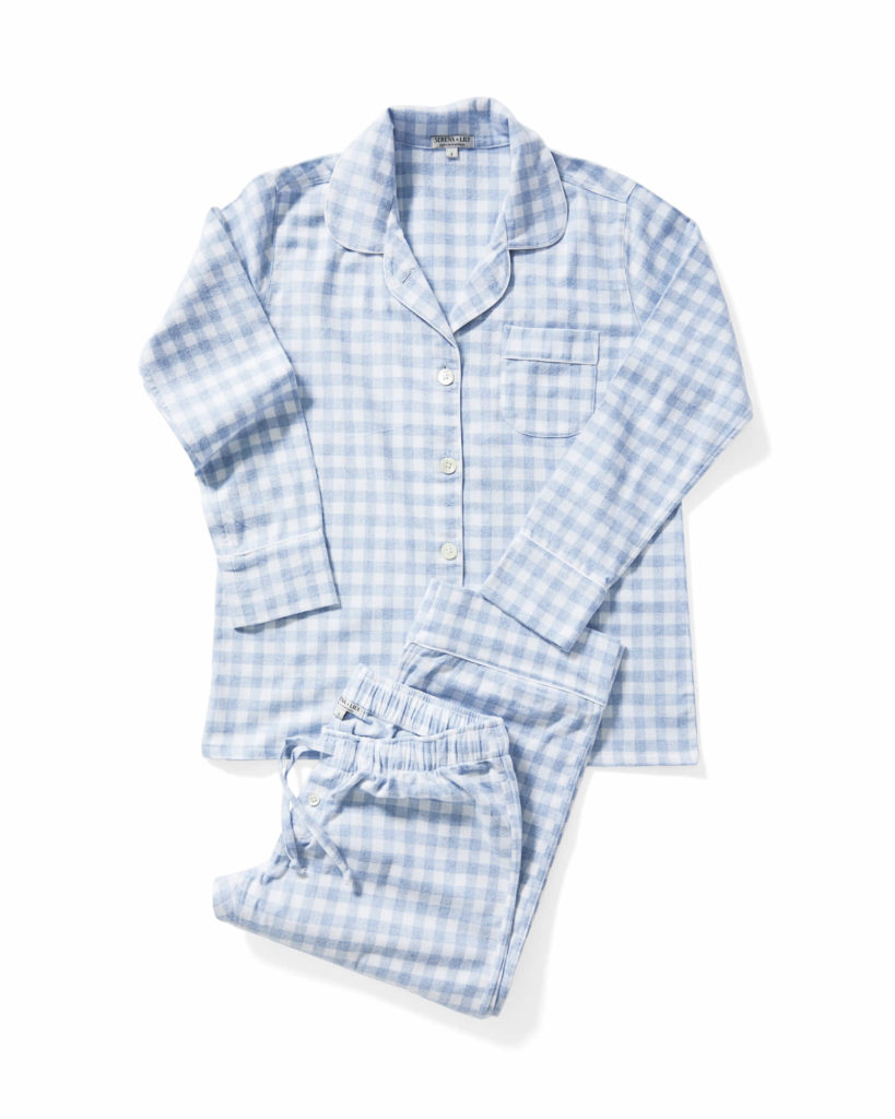 Dalton Flannel Gingham Pajamas