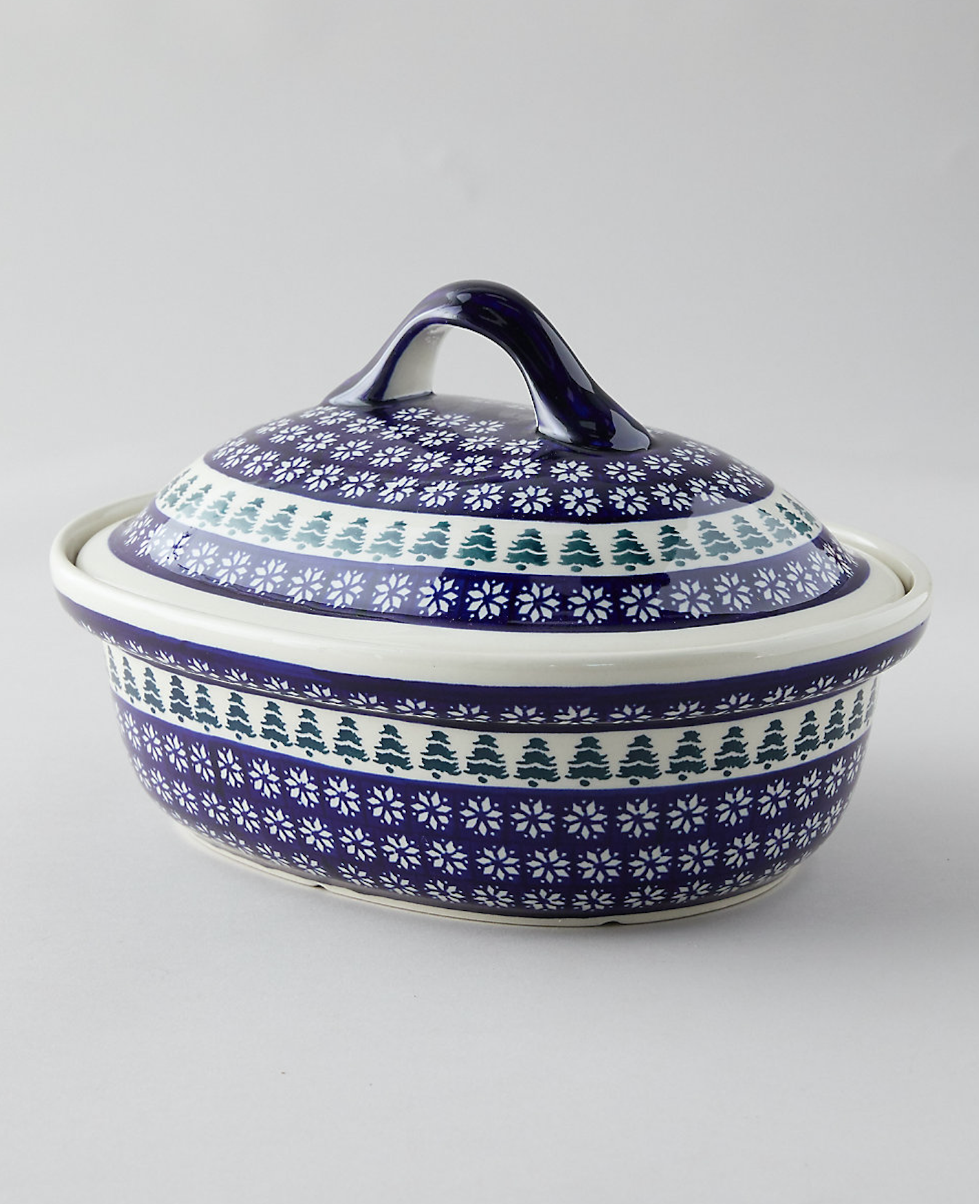 Evergreen Covered Baking Dish