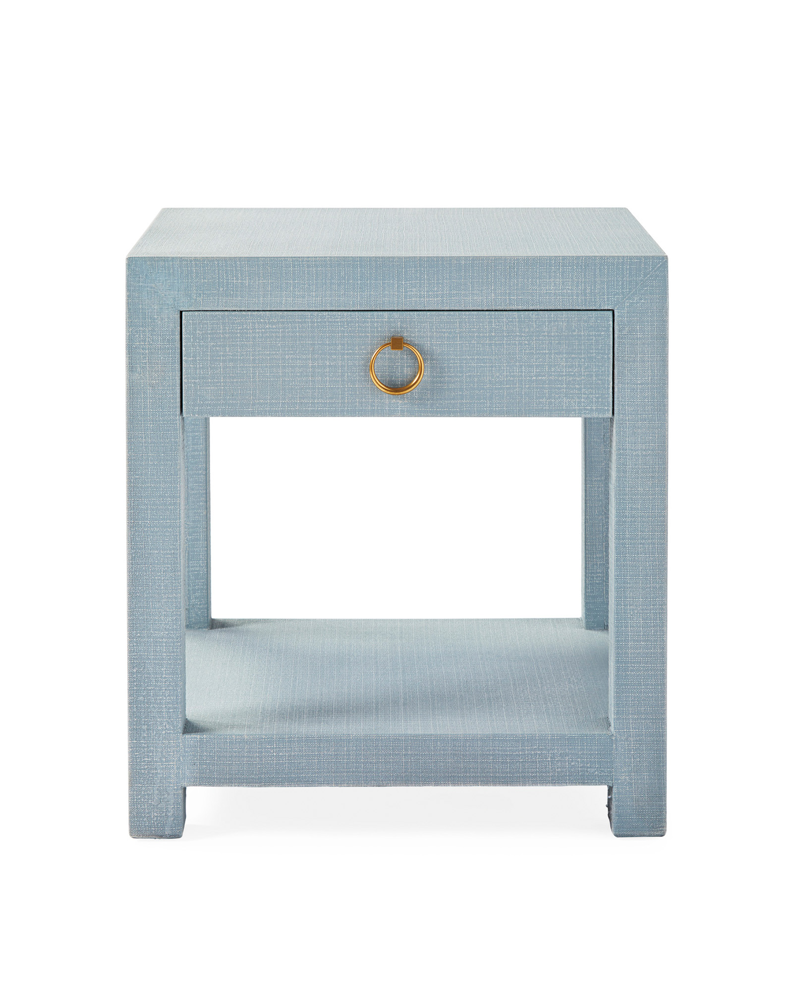 Textured Linen Nightstand