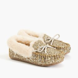 Glitter Moccasins Slippers