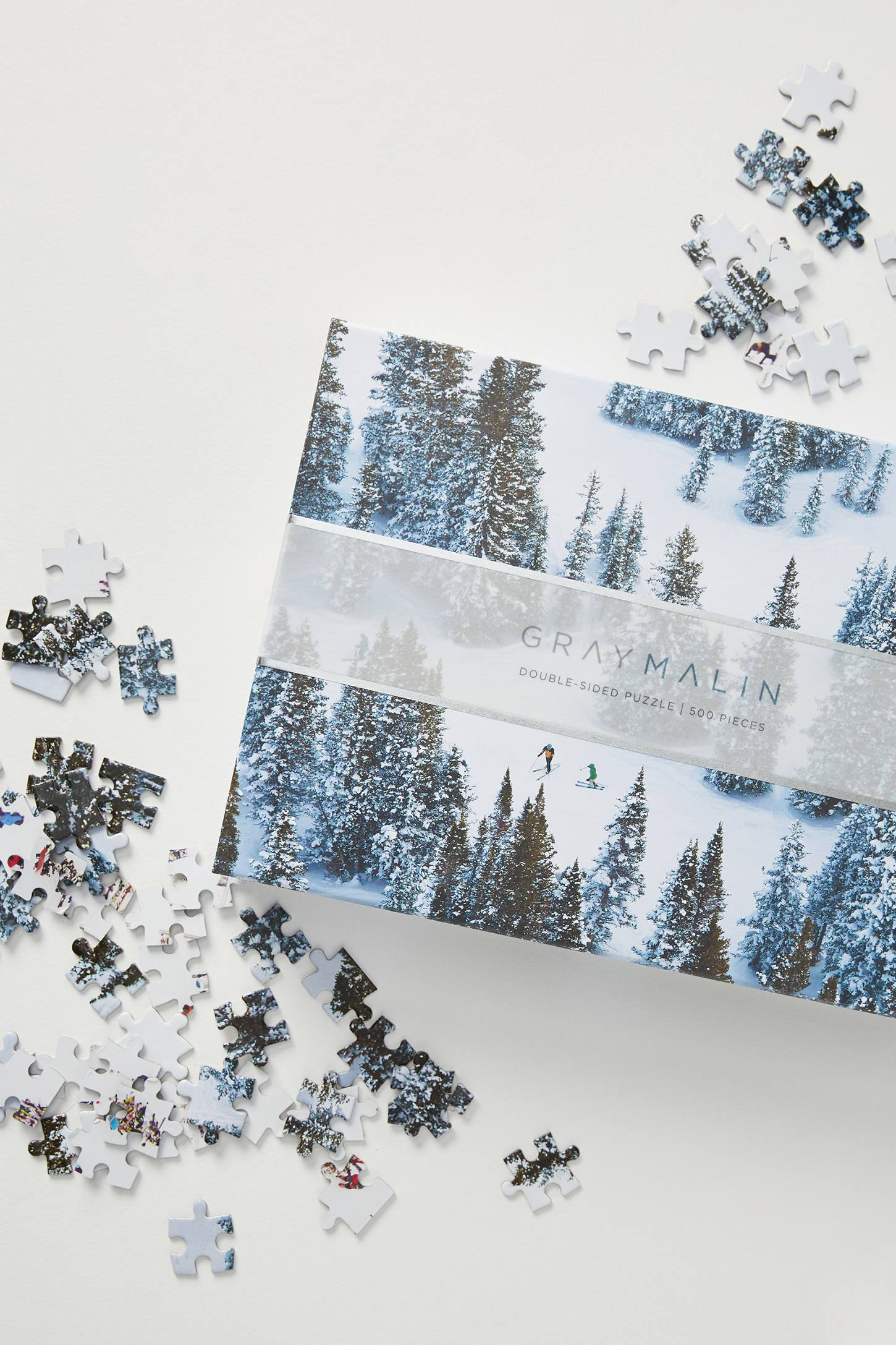 Double Sided Snow Puzzle