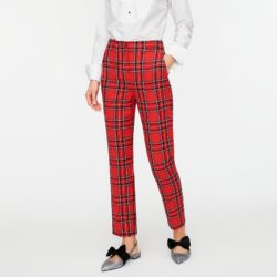 High Rise Tartan Plaid Pants