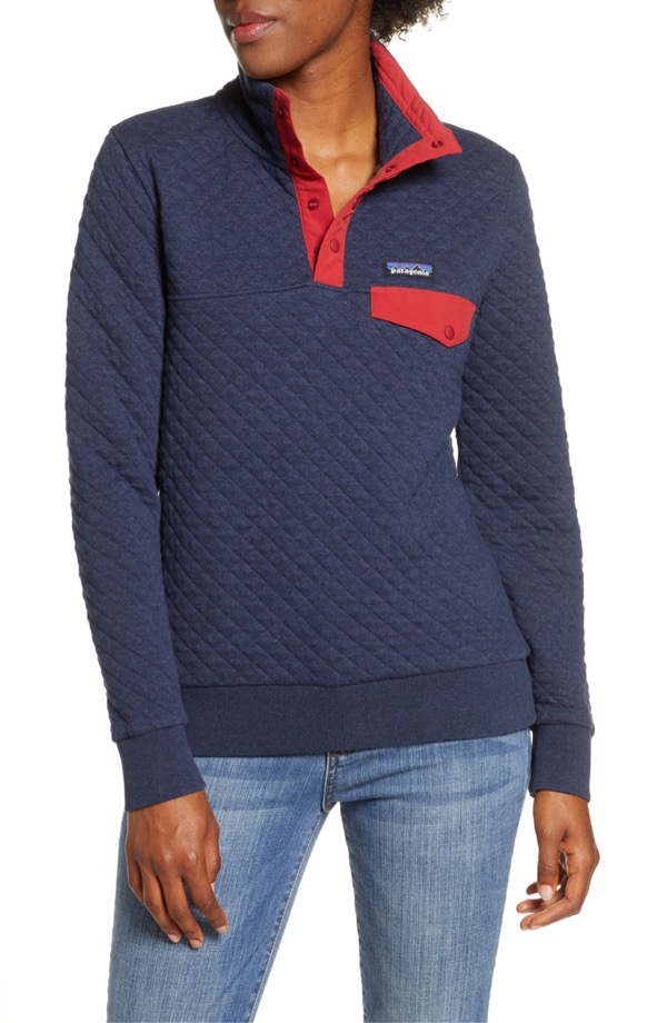 Patagonia Quilted Snap-T Pullover