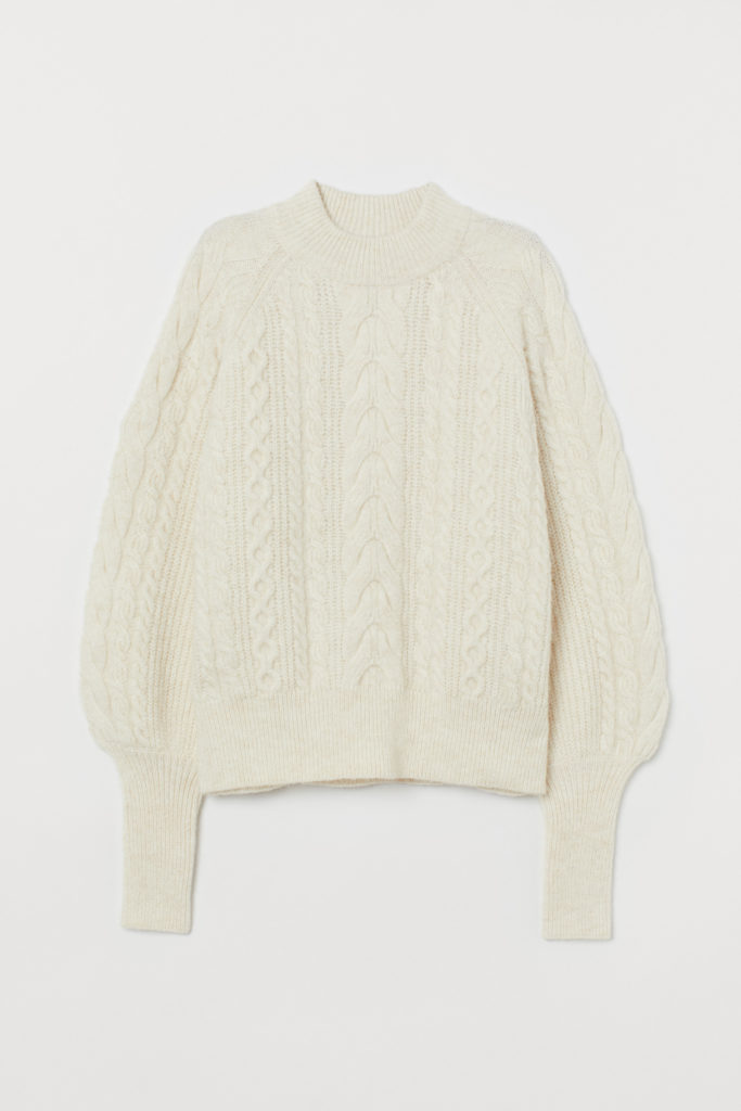 Soft Cable Knit Sweater
