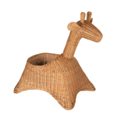 Wicker Giraffe Basket