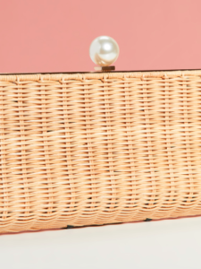 The Daily Hunt: Wicker Pearl Clutch and more!