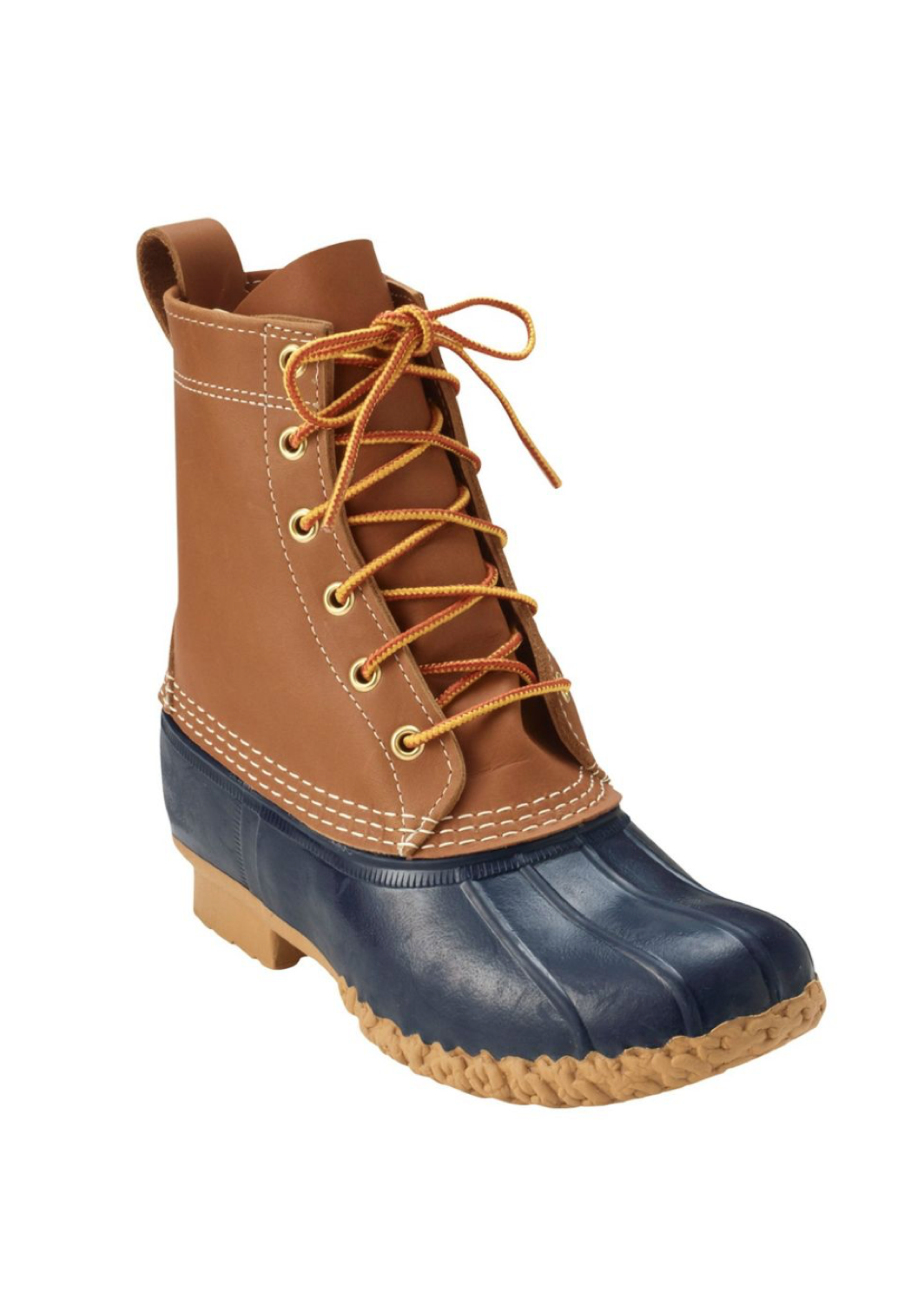 Leather Bean Boots
