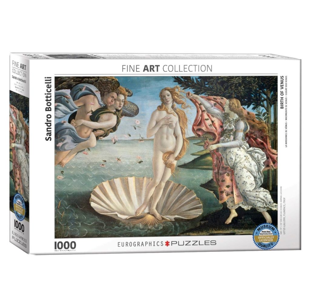 Botticelli Birth of Venus Jigsaw Puzzle