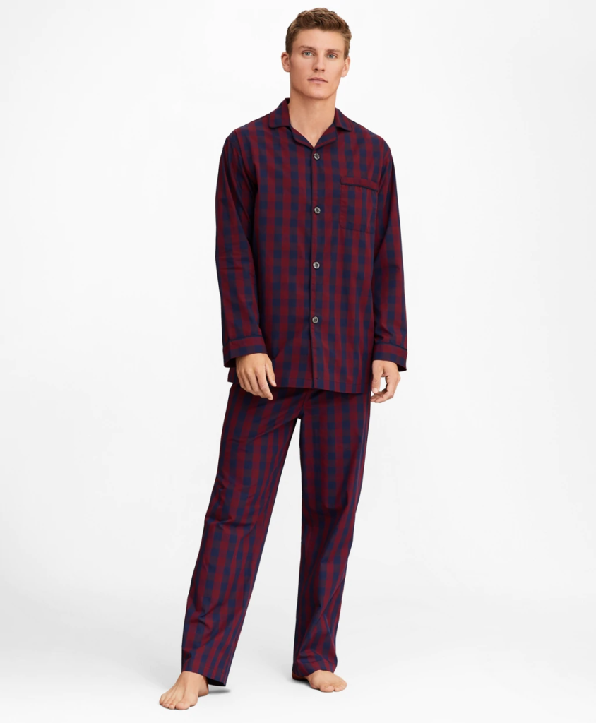 Men's Buffalo Check Pajamas