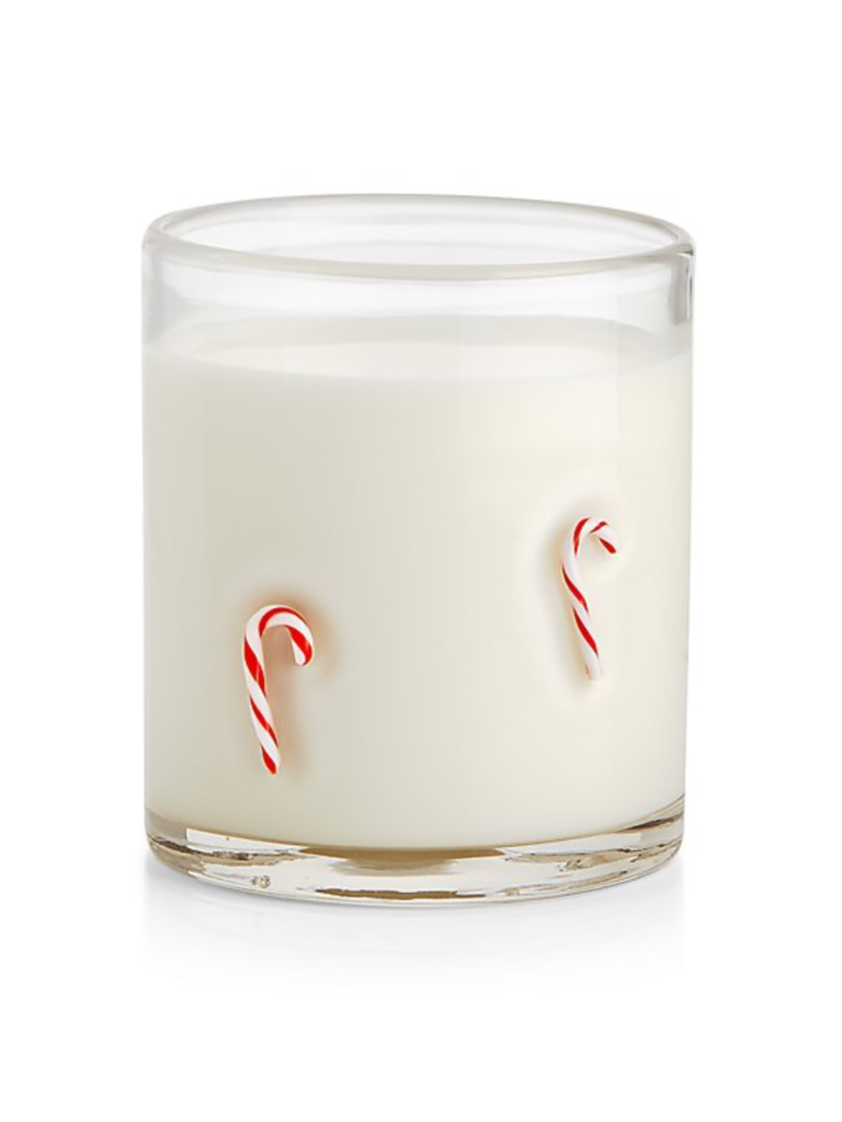 Candy Canes Double Old-Fashioned Glasses