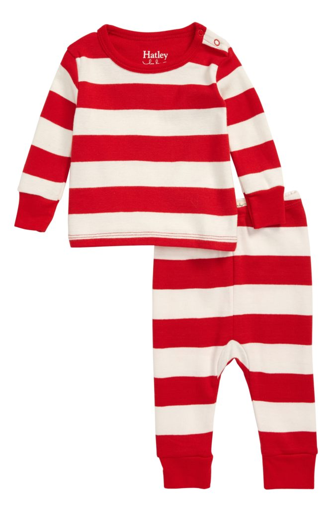 Candy Cane Stripe Pajamas