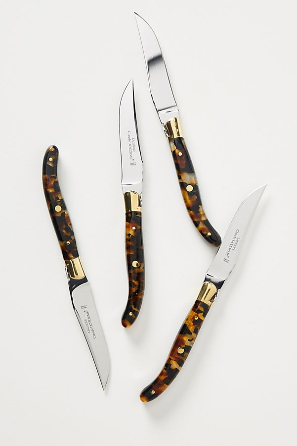 Tortoise Steak Knives