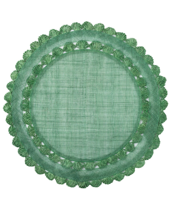 Evergreen Round Placemat
