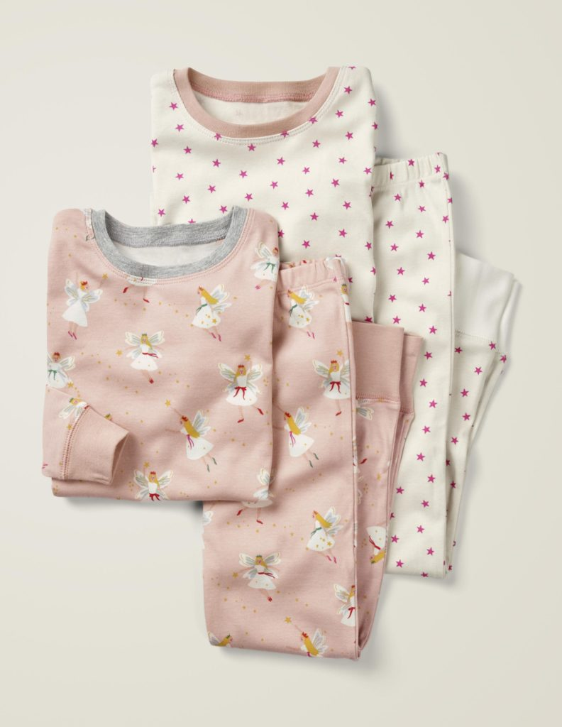 Festive Fairies Pajama Set
