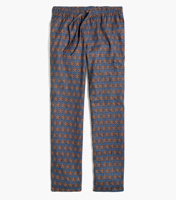 Gingerbread Man Flannel Pants