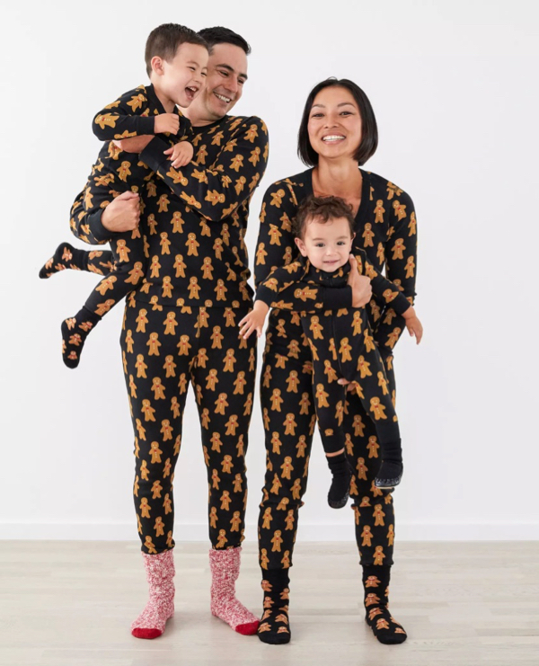 Gingerbread Man Matching Family Pajamas