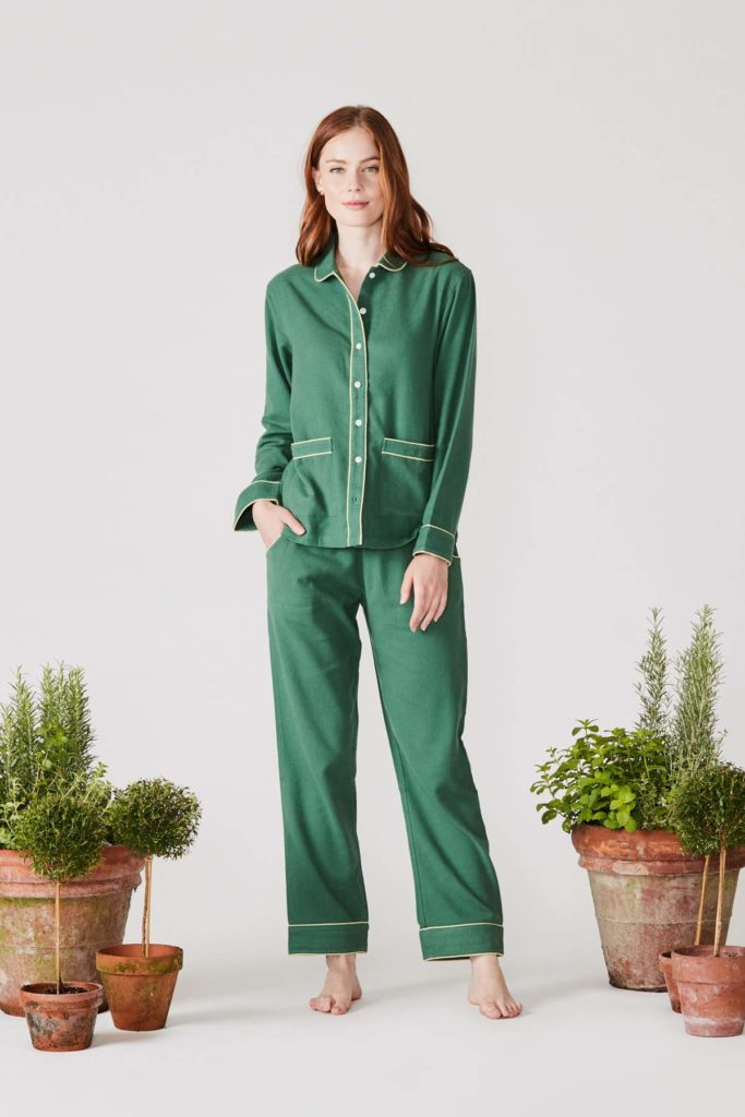 Green Flannel Pajamas