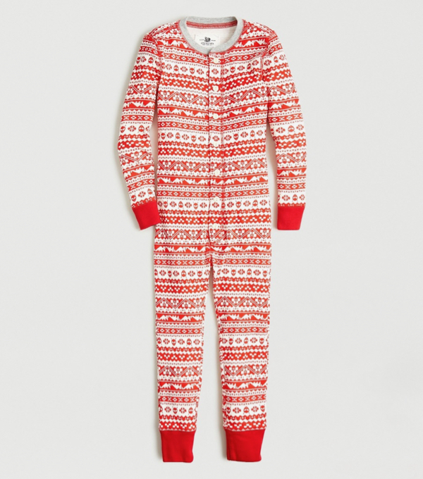 Kids' Fair Isle Union Suit