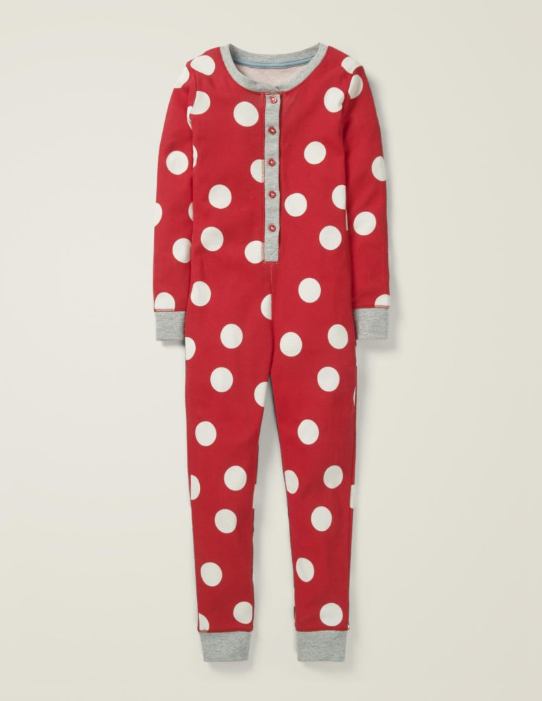 Kids' Polka Dot Union Suit