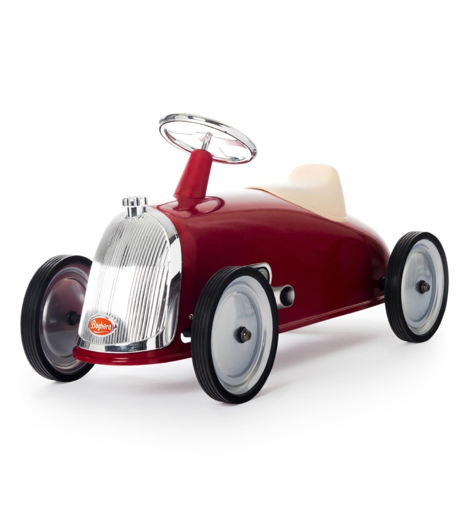 Red Ride-On Car