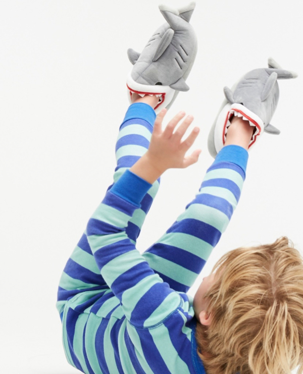 Kids' Shark Slippers