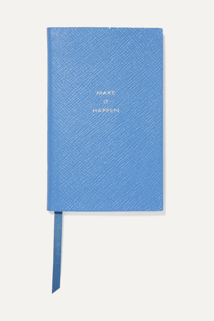 Make It Happen Leather Notebook