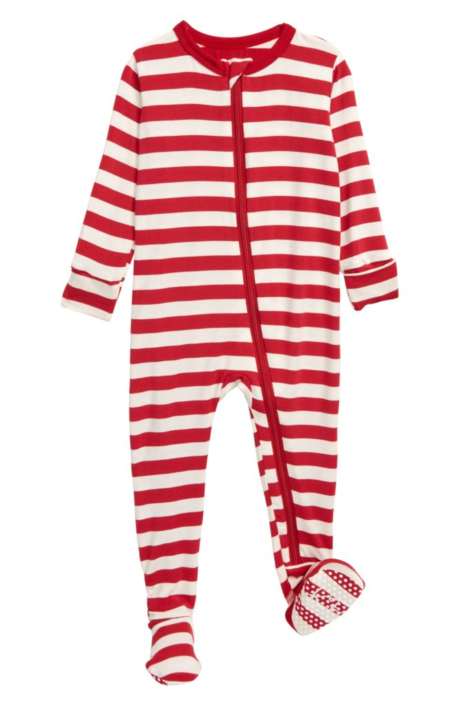 Baby Striped Footie