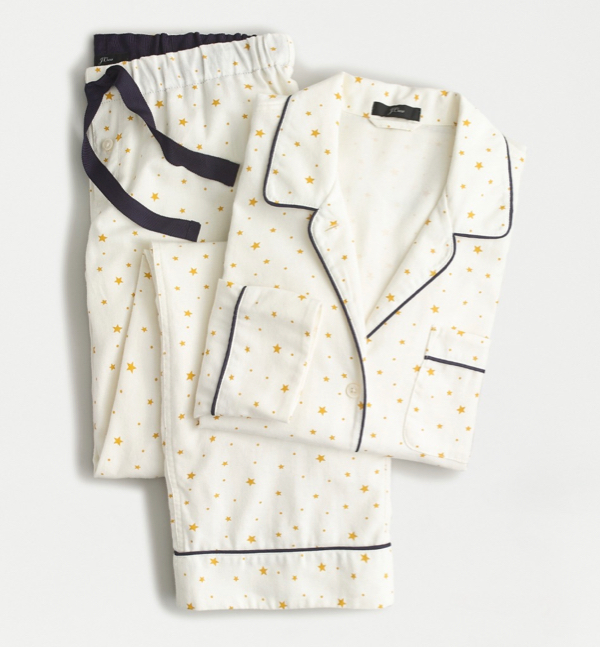Star Flannel Pajama Set