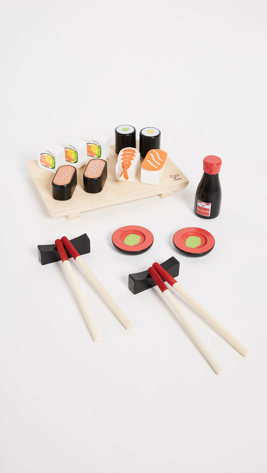Wooden Toy Sushi Set