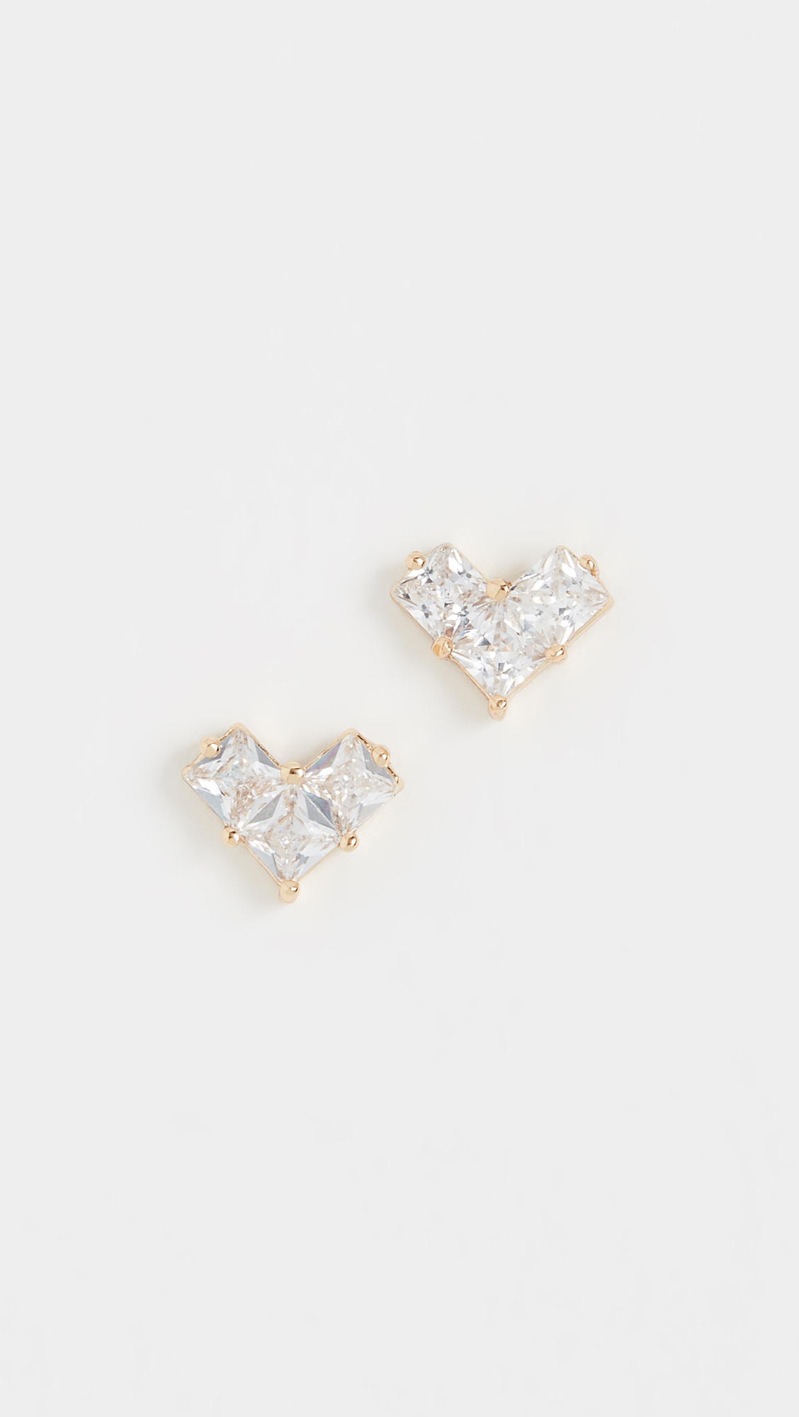 Heart Stud Earrings