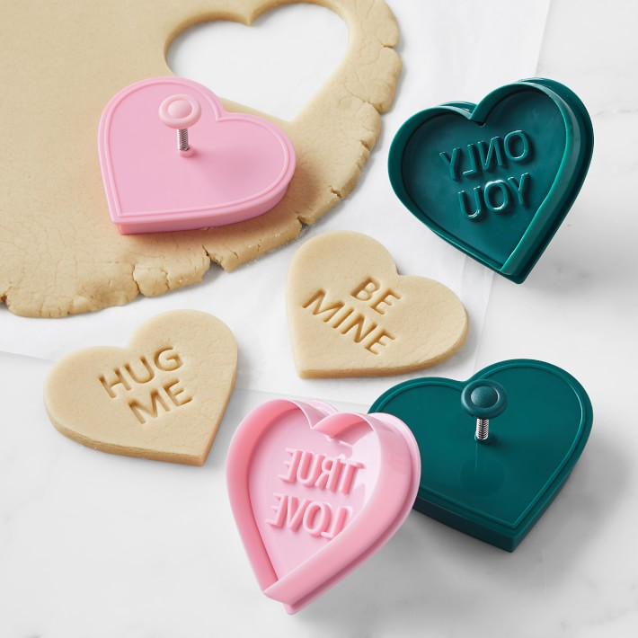 Conversation Heart Cookie Cutter Set
