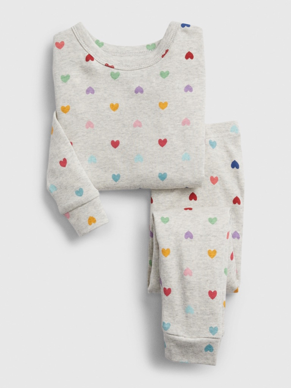 Heart Pajama Set Girls Toddler Valentine's Day