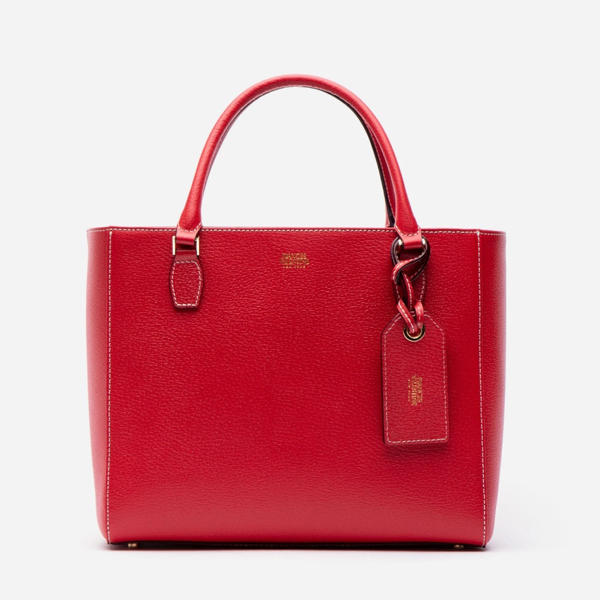 Olivia Tote Boarskin Red Frances Valentine