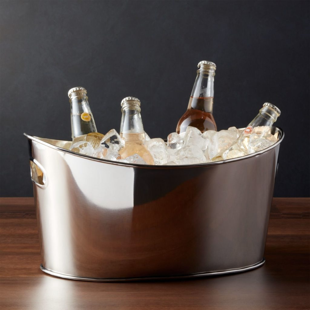 Oval Party Beverage Tub Wine Beer Cooler